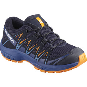 Salomon XA Pro 3D Shoes Junior Medieval Blue/Mazarine Blue Wil/Tan